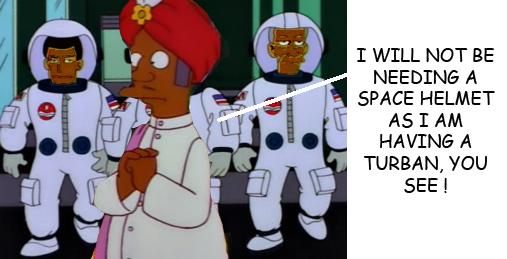 Apu in space