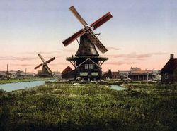 Windmills-Holland