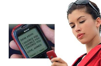 phone divorce