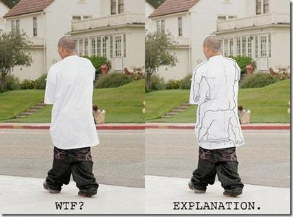 low slung pants