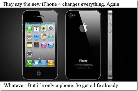funny iphone ad