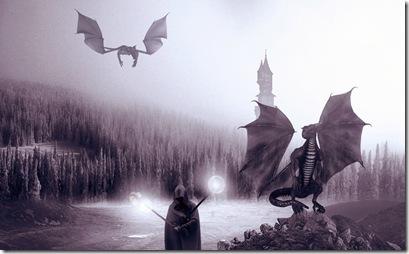 lotr dragons