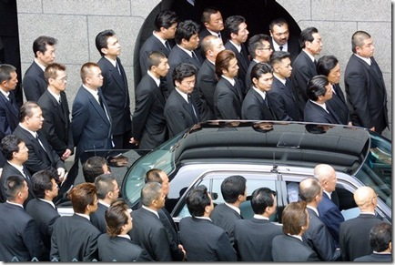 Yakuza-gathered-at-a-funeral