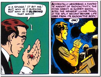 spiderman radioactive bite