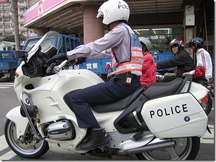 Taiwan police by patty ho