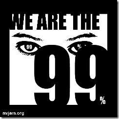 we are the 99 logo