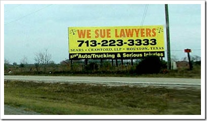 we sue lawyers
