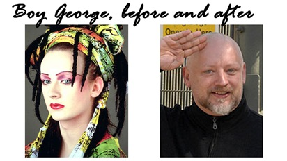boy george before after