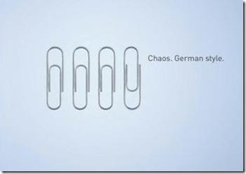 choas german style