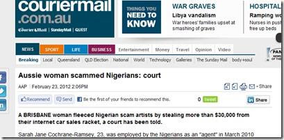 scammed nigerians