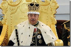 tonga as king
