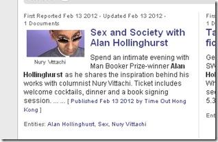 hollinghurst announcement