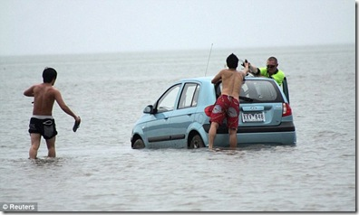 satnav pic by reuters