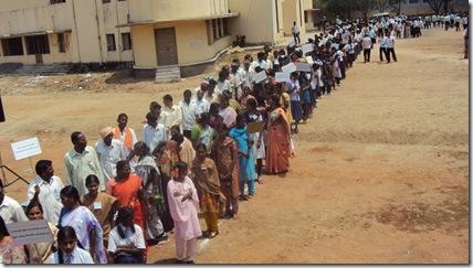 worlds longest toilet queue flickr cc licence