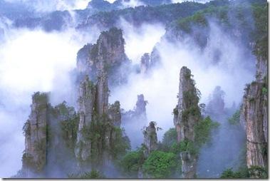 Scenery-in-Zhangjiajie