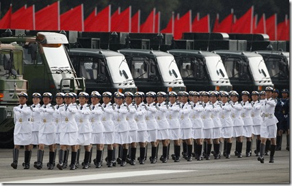 Chinese PLA Garrison in Hong Kong