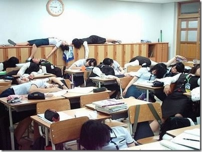 94 Sleeping Students