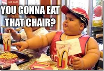 gonna eat that chair