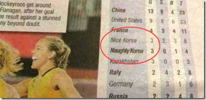 nice korea naughty