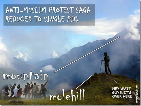 anti islam protests