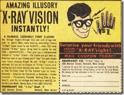 COMICAD xray glasses