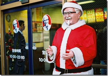 colonel saunders santa