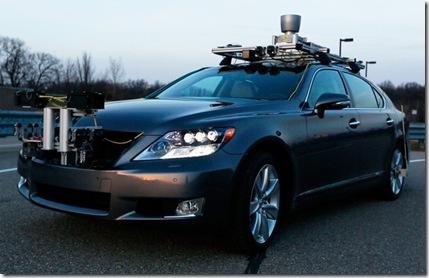 driverless car toyota