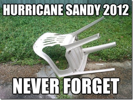 hurricane sandy chair fallen over