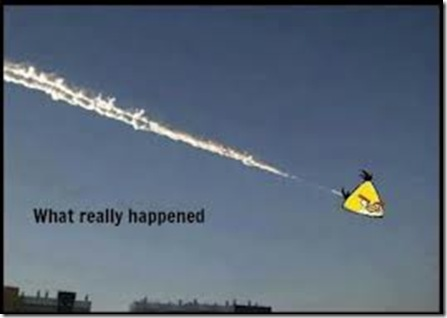 angry bird meteor