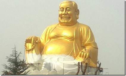 china theme park buddha