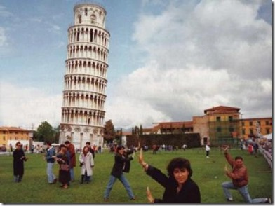 Setting Off _ Pisa-Tourist-Funny