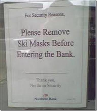 please remove ski masls