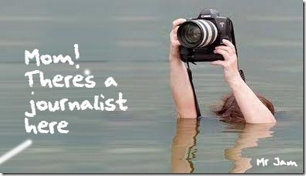 reporter flood