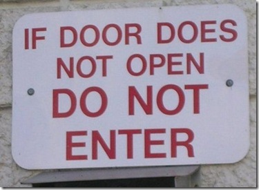 If door does not open
