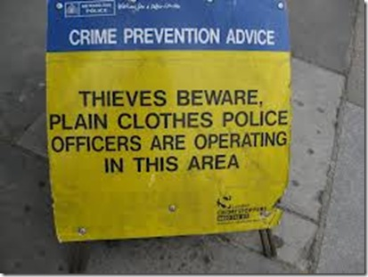 thieves beware