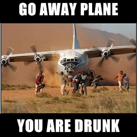 Drunk-plane