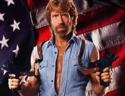 Chuck norris guns