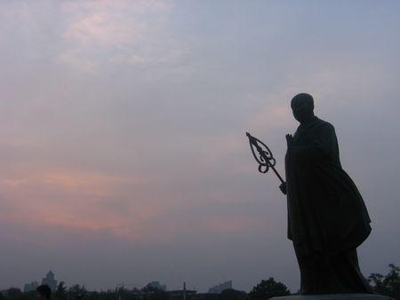Xuanzang_Da_Yan_Ta_statue