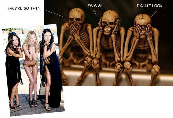 SKELETONS VS SUPERMODELS