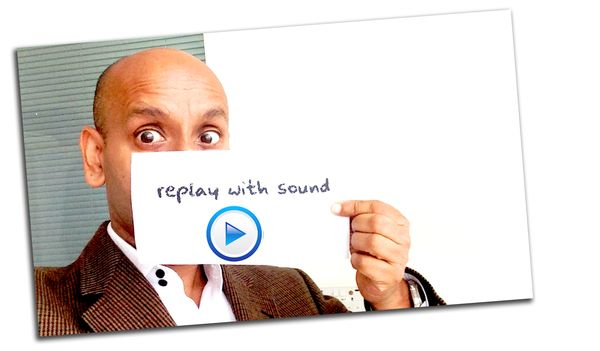 Replay with sound